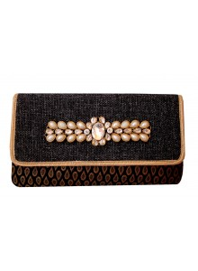 black women fashion evening clutch