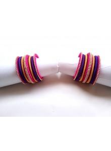 multi color bangles set