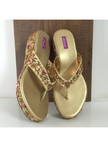 golden women footwear
