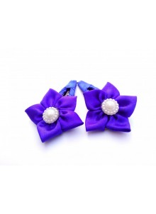 Blue Flower Hair Pin