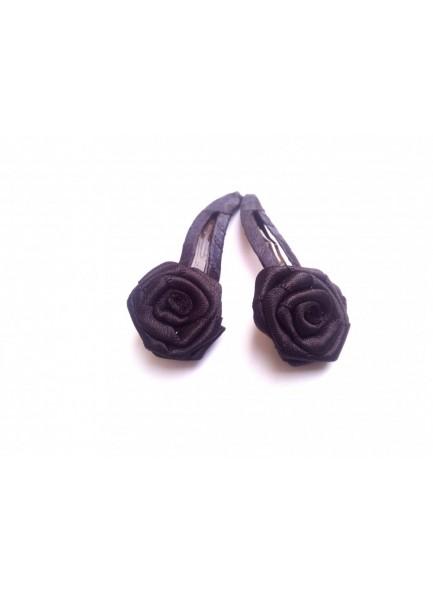 Black Rose Hair Pin