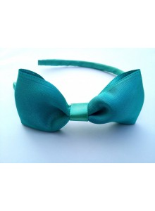 Firozi bow hair band