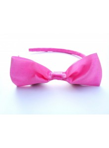Light pink bow hair band