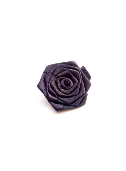 black rose saree pin