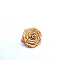 golden rose saree pin