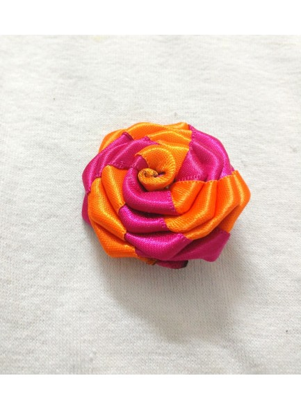 rani and orange rose hair pin