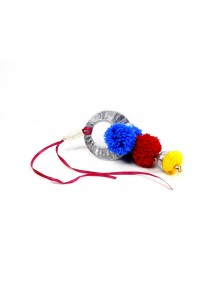 blue and maroon lumba bhabhi rakhi