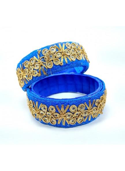 blue work bangles
